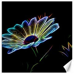 Flower Pattern Design Abstract Background Canvas 20  X 20