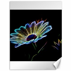 Flower Pattern Design Abstract Background Canvas 36  X 48