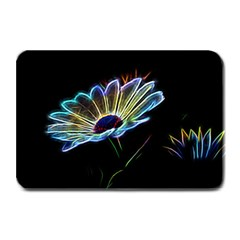 Flower Pattern Design Abstract Background Plate Mats