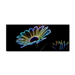 Flower Pattern Design Abstract Background Cosmetic Storage Cases