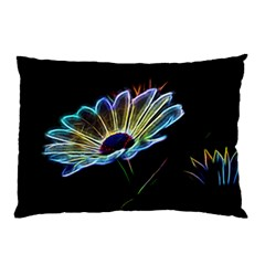 Flower Pattern Design Abstract Background Pillow Case