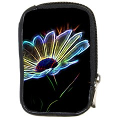 Flower Pattern Design Abstract Background Compact Camera Cases