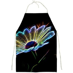 Flower Pattern Design Abstract Background Full Print Aprons