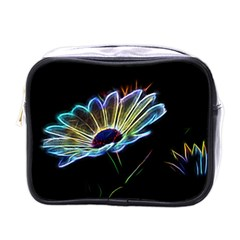 Flower Pattern Design Abstract Background Mini Toiletries Bags