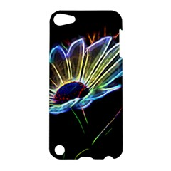 Flower Pattern Design Abstract Background Apple Ipod Touch 5 Hardshell Case