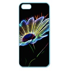 Flower Pattern Design Abstract Background Apple Seamless iPhone 5 Case (Color)