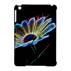 Flower Pattern Design Abstract Background Apple Ipad Mini Hardshell Case (compatible With Smart Cover)