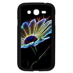Flower Pattern Design Abstract Background Samsung Galaxy Grand Duos I9082 Case (black)