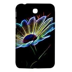 Flower Pattern Design Abstract Background Samsung Galaxy Tab 3 (7 ) P3200 Hardshell Case