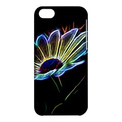 Flower Pattern Design Abstract Background Apple Iphone 5c Hardshell Case