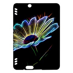 Flower Pattern Design Abstract Background Kindle Fire Hdx Hardshell Case