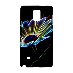 Flower Pattern Design Abstract Background Samsung Galaxy Note 4 Hardshell Case