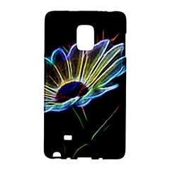 Flower Pattern Design Abstract Background Galaxy Note Edge