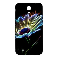 Flower Pattern Design Abstract Background Samsung Galaxy Mega I9200 Hardshell Back Case