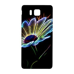 Flower Pattern Design Abstract Background Samsung Galaxy Alpha Hardshell Back Case