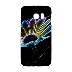 Flower Pattern Design Abstract Background Galaxy S6 Edge