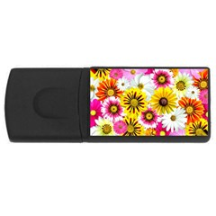 Flowers Blossom Bloom Nature Plant USB Flash Drive Rectangular (1 GB)