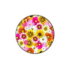 Flowers Blossom Bloom Nature Plant Hat Clip Ball Marker (10 Pack)