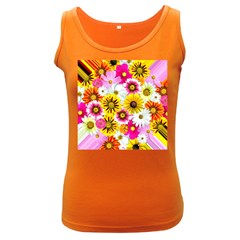 Flowers Blossom Bloom Nature Plant Women s Dark Tank Top