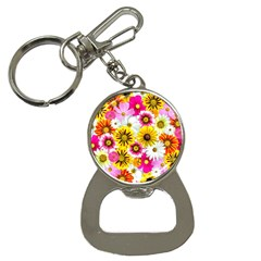 Flowers Blossom Bloom Nature Plant Button Necklaces