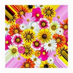 Flowers Blossom Bloom Nature Plant Medium Glasses Cloth