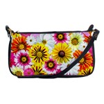 Flowers Blossom Bloom Nature Plant Shoulder Clutch Bags Front