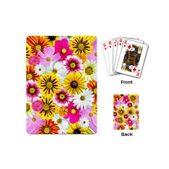 Flowers Blossom Bloom Nature Plant Playing Cards (mini)