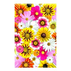 Flowers Blossom Bloom Nature Plant Shower Curtain 48  X 72  (small)