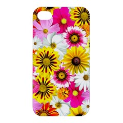 Flowers Blossom Bloom Nature Plant Apple Iphone 4/4s Hardshell Case