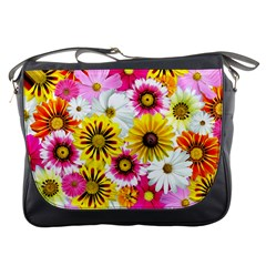Flowers Blossom Bloom Nature Plant Messenger Bags