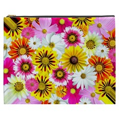 Flowers Blossom Bloom Nature Plant Cosmetic Bag (xxxl)