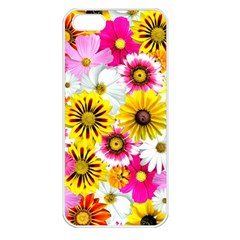 Flowers Blossom Bloom Nature Plant Apple Iphone 5 Seamless Case (white)