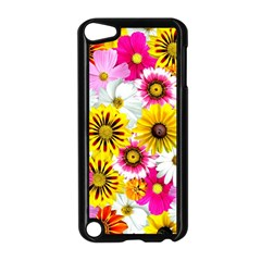 Flowers Blossom Bloom Nature Plant Apple Ipod Touch 5 Case (black)