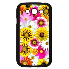 Flowers Blossom Bloom Nature Plant Samsung Galaxy Grand Duos I9082 Case (black)