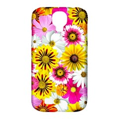Flowers Blossom Bloom Nature Plant Samsung Galaxy S4 Classic Hardshell Case (pc+silicone)