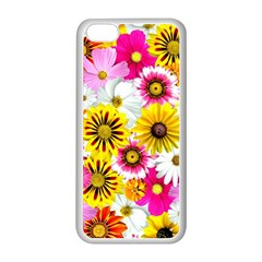 Flowers Blossom Bloom Nature Plant Apple Iphone 5c Seamless Case (white)