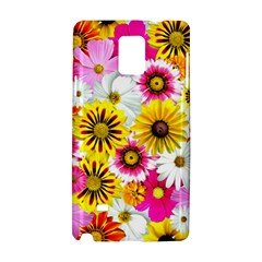 Flowers Blossom Bloom Nature Plant Samsung Galaxy Note 4 Hardshell Case