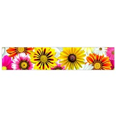 Flowers Blossom Bloom Nature Plant Flano Scarf (small)
