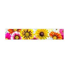 Flowers Blossom Bloom Nature Plant Flano Scarf (mini)