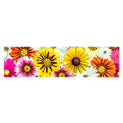 Flowers Blossom Bloom Nature Plant Satin Scarf (oblong)