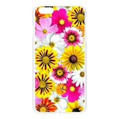 Flowers Blossom Bloom Nature Plant Apple Seamless iPhone 6 Plus/6S Plus Case (Transparent)