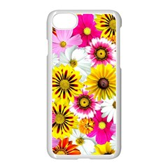 Flowers Blossom Bloom Nature Plant Apple Iphone 7 Seamless Case (white)
