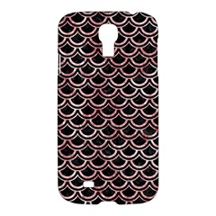 Scales2 Black Marble & Red & White Marble Samsung Galaxy S4 I9500/i9505 Hardshell Case