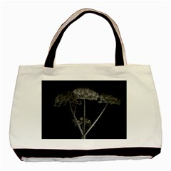Dog Tube White Night Dark Ice Basic Tote Bag