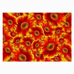 Gerbera Flowers Blossom Bloom Large Glasses Cloth (2-Side)