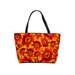 Gerbera Flowers Blossom Bloom Shoulder Handbags