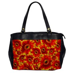 Gerbera Flowers Blossom Bloom Office Handbags