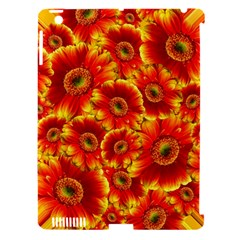 Gerbera Flowers Blossom Bloom Apple Ipad 3/4 Hardshell Case (compatible With Smart Cover)