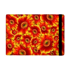 Gerbera Flowers Blossom Bloom Apple Ipad Mini Flip Case