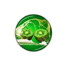 Kiwi Fruit Vitamins Healthy Cut Hat Clip Ball Marker (4 Pack)